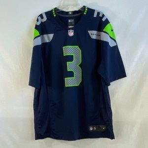 Russell Wilson Seattle Seahawks Game Jersey - XL